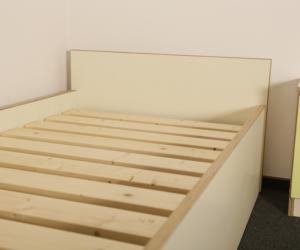 Aus unserer Möbelproduktion: Bett
