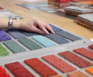 Beispiele für Mustermappen: Herstellung und fertiges Produkt